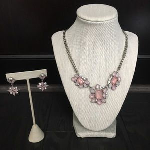 Ardene Necklace With Matching Earrings